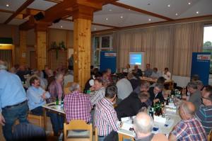 Gut besucht war die Nomminierungsveranstaltung im Dorfgemeinschaftshaus Neugnadenfeld