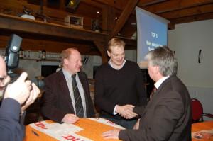 In der Mitgliederversammlung 2012 übernahm Albert Stegemann den Vorsitz von Fritz Berends. Auch in diesem Jahr stehen wieder Vorstandswahlen auf der Tagesordnung.