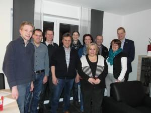 Der neugewählte Vorstand der CDU Emlichheim-Hoogstede-Laar-Ringe.