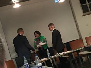 Einstimmig wiedergewählt: Erster Samtgemeinde Ansgar Duling